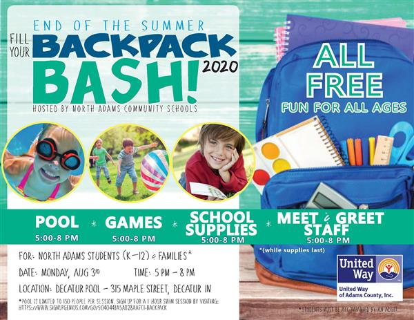 Fill Your Backpack Bash