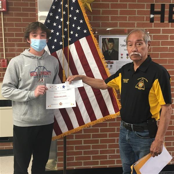 Isaiah Wellman Receives Additional Essay Contest Recognition
