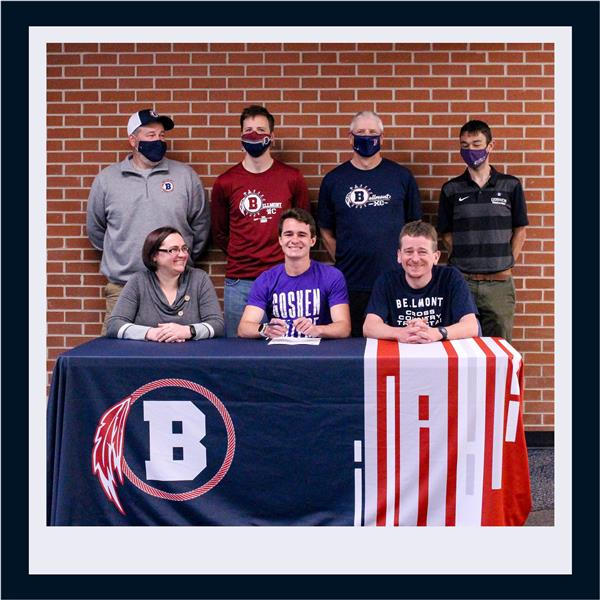 Garlinger Signs with Goshen College