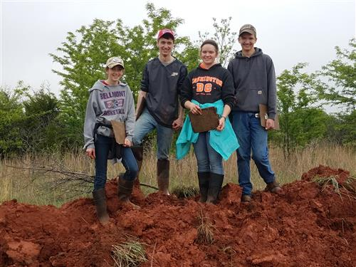 BHS FFA Shows Success at National Soils