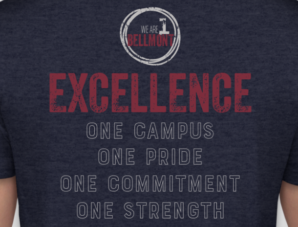 "Order a Bellmont ""One in Excellence"" Shirt Today!"