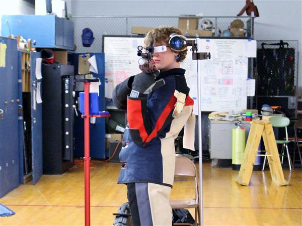 BHS Rifle Team Member Competes for Jr. Olympics