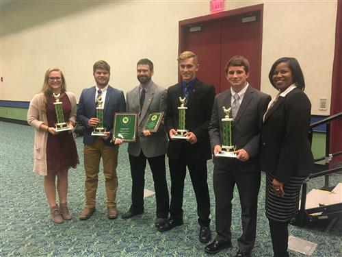 BHS FFA Claims 1st at National Poultry Competition