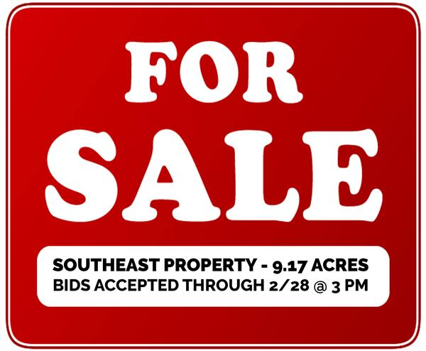 Accepting Bids Now: Southeast Elementary Property