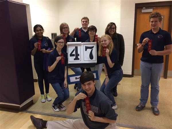 BHS Spell Team to Advance to Area Meet
