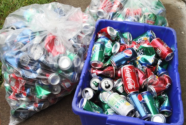 Annual BHS Track & Field Aluminum Can Drive