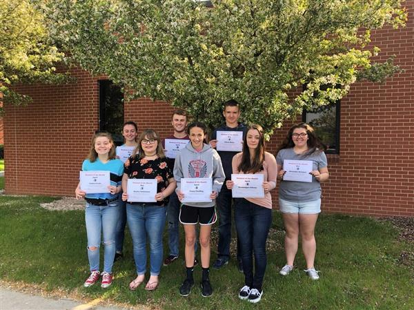 Students of the Month - April & May 2019