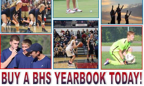 BHS Yearbooks On Sale